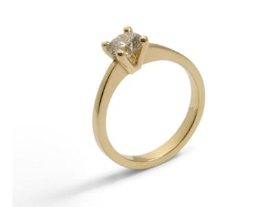 Gouden verlovingsringen